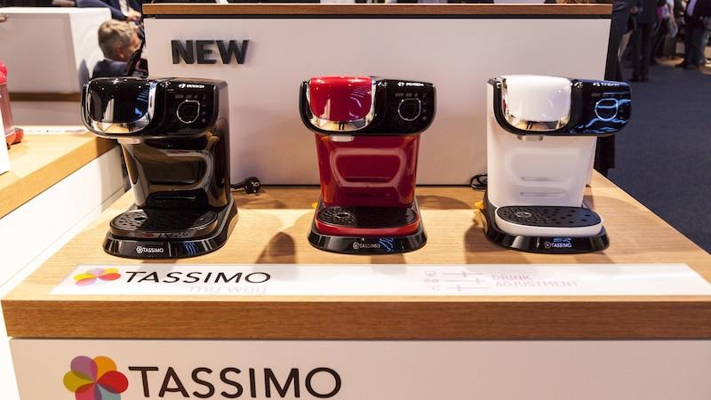 Tassimo: Rote Lampe leuchtet - das können Sie tun