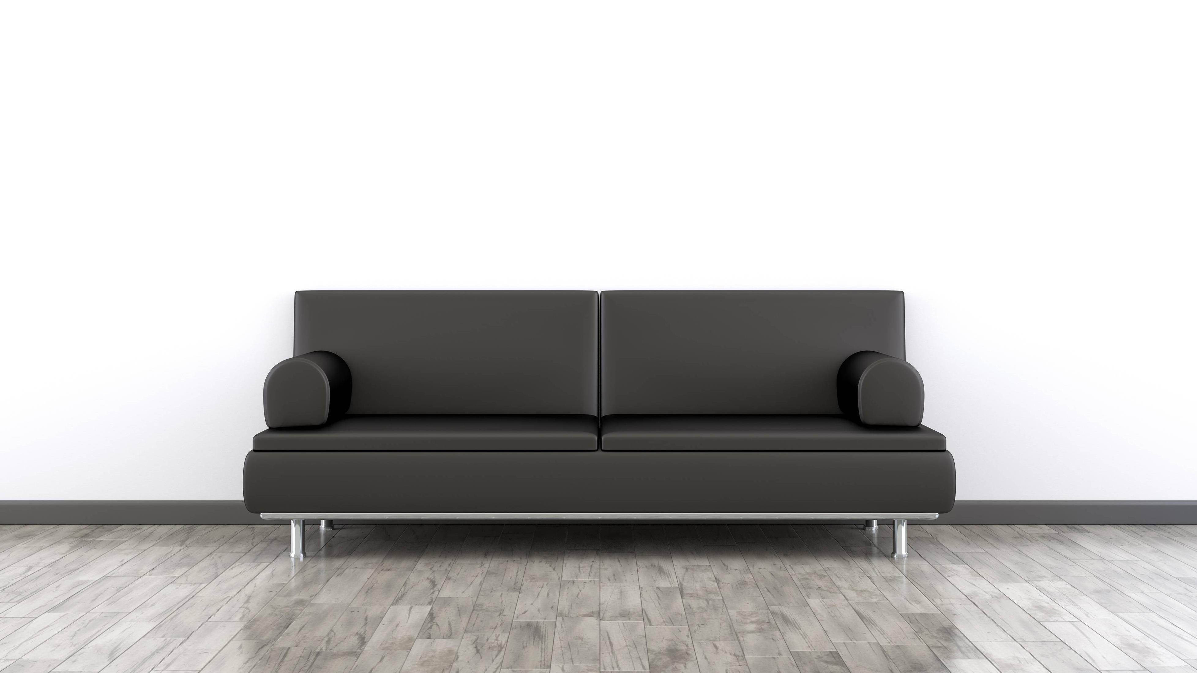 Schwarzes Sofa aufpeppen: Die besten Tipps und Kombinationen