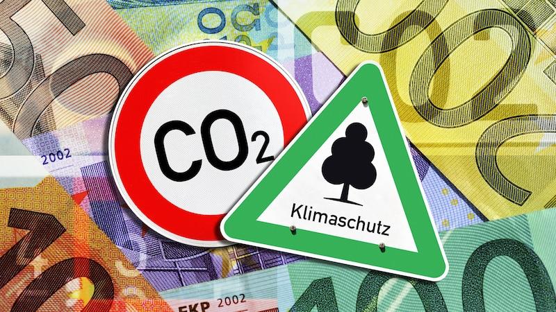 Der CO2-Staubsauger soll gegen die Erderwärmung helfen.