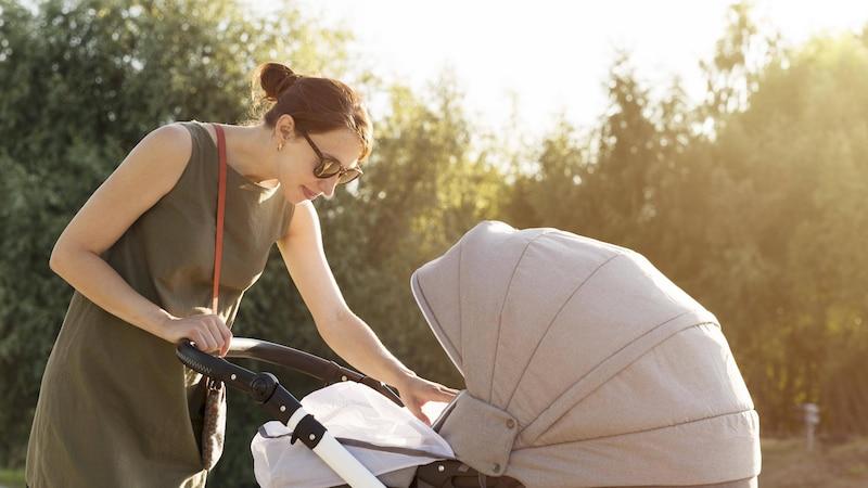 Nutzen Sie als Insektenschutz für Ihr Baby Hausmittel und Mittel ohne Chemie: Befestigen Sie einfach ein Netz am Kinderwagen.