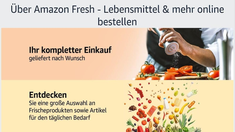 Amazon fresh - das kostet der Lebensmittellieferdienst