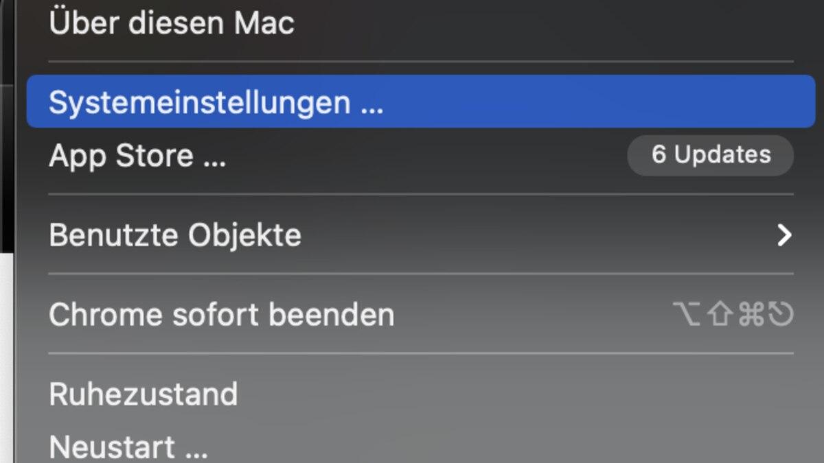 Mac OS X Tastaturlayout ändern: Gehen Sie auf die Systemeinstellungen.