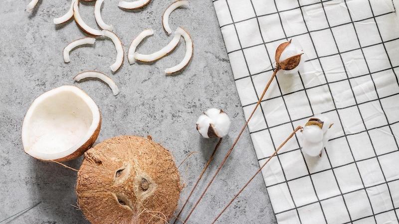 Kokosöl trocknet Haut aus: Was Sie darüber wissen sollten