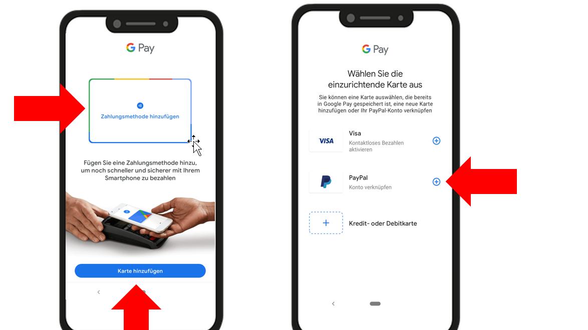 Google Pay lässt sich in wenigen Schritten einrichten.