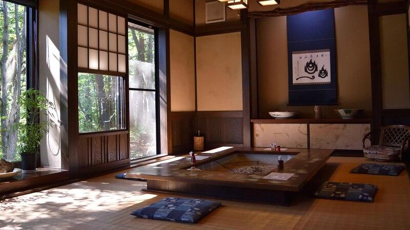 Japanische Deko beschränkt sich auf das Wesentliche.