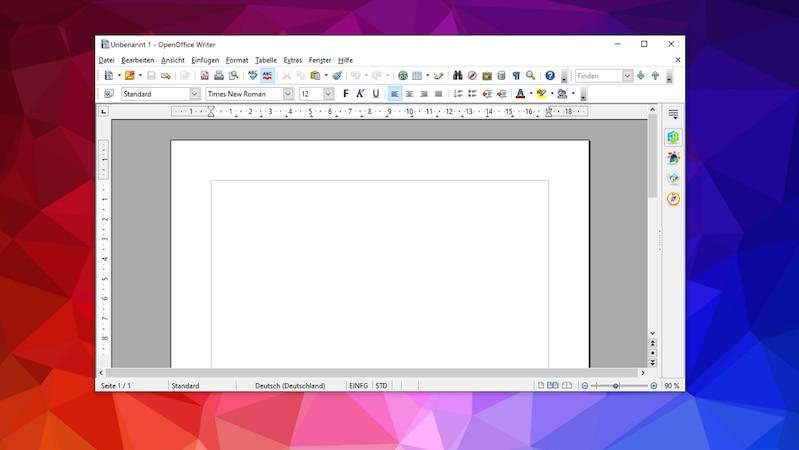 Open Office Writer ist eine kostenlose Alternative zu Microsoft Word