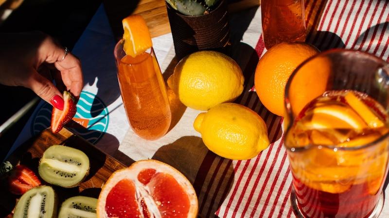 Sauer macht lustig und gesund: Zitrusfrüchte zählen zu den Lebensmitteln, in denen besonders viel Antioxidantien stecken.