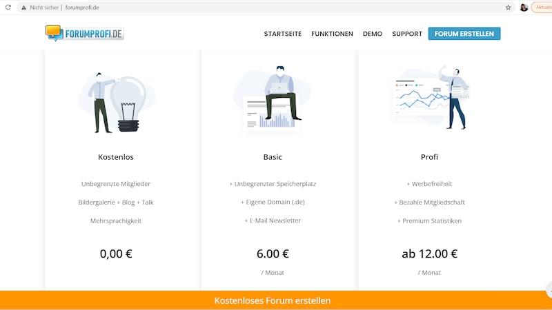 Forumprofi: Forum kostenlos