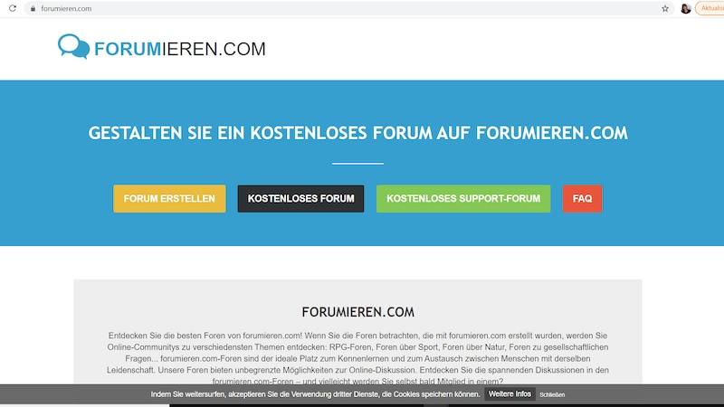 Forumieren.com: 300 Designs