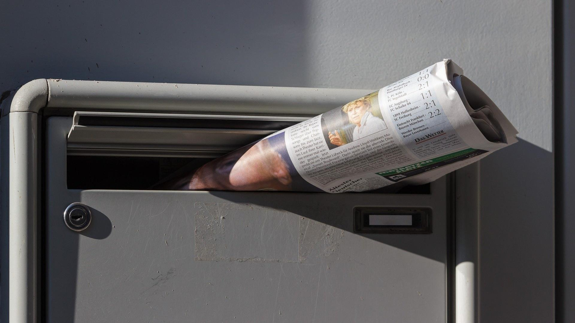 Das verdienen Sie beim Zeitungsaustragen.