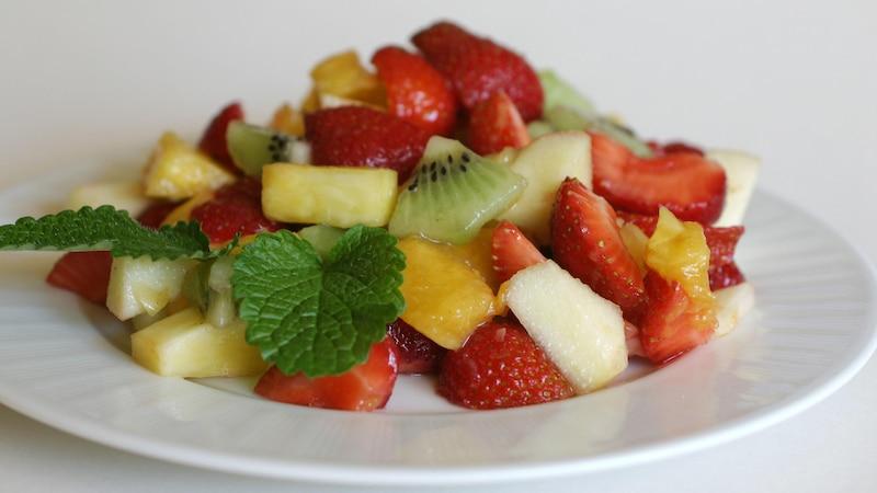 Mit einem täglichen Obstverzehr können Sie Schnupfen vorbeugen.