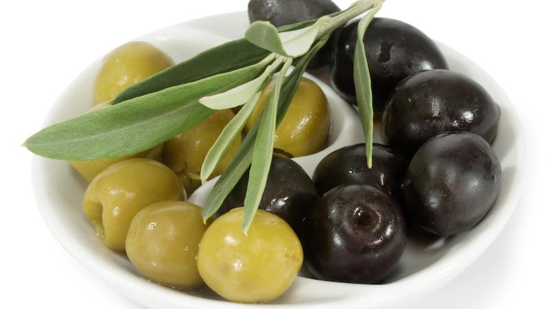 Farbe bei Oliven: Unterschied zwischen schwarz und grün