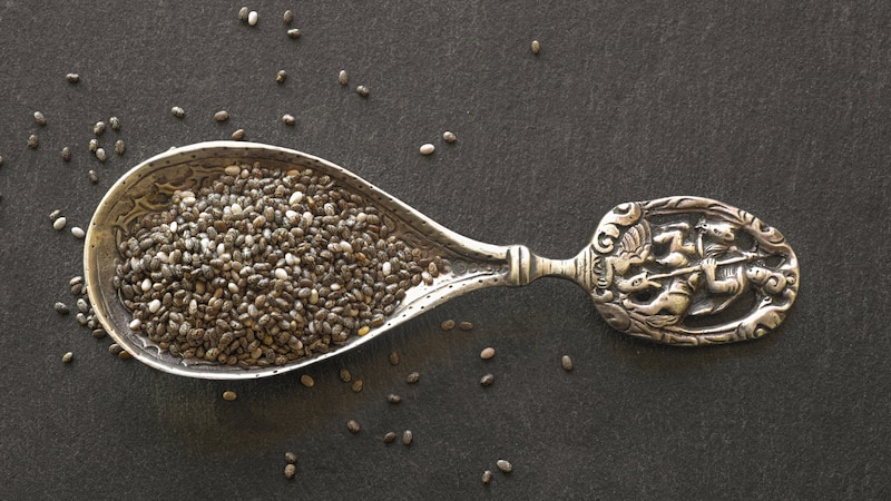 Chia-Samen als Ersatz für Xanthan