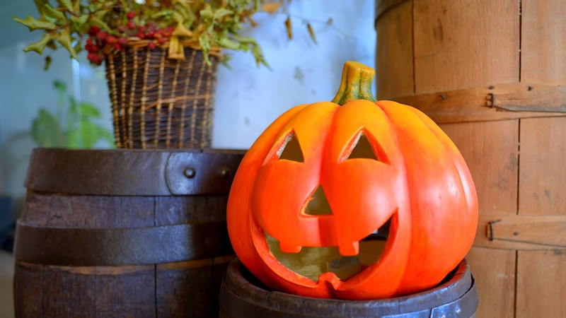 Am Vorabend von Allerheiligen feiern wir Halloween.