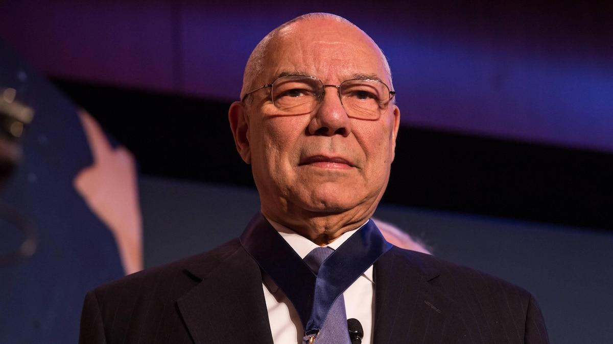 US-Politiker Colin Powell wurde weltweit bekannt durch seine Falschaussagen vor den UN, damit George W. Bush in den Irak einmarschieren konnte.