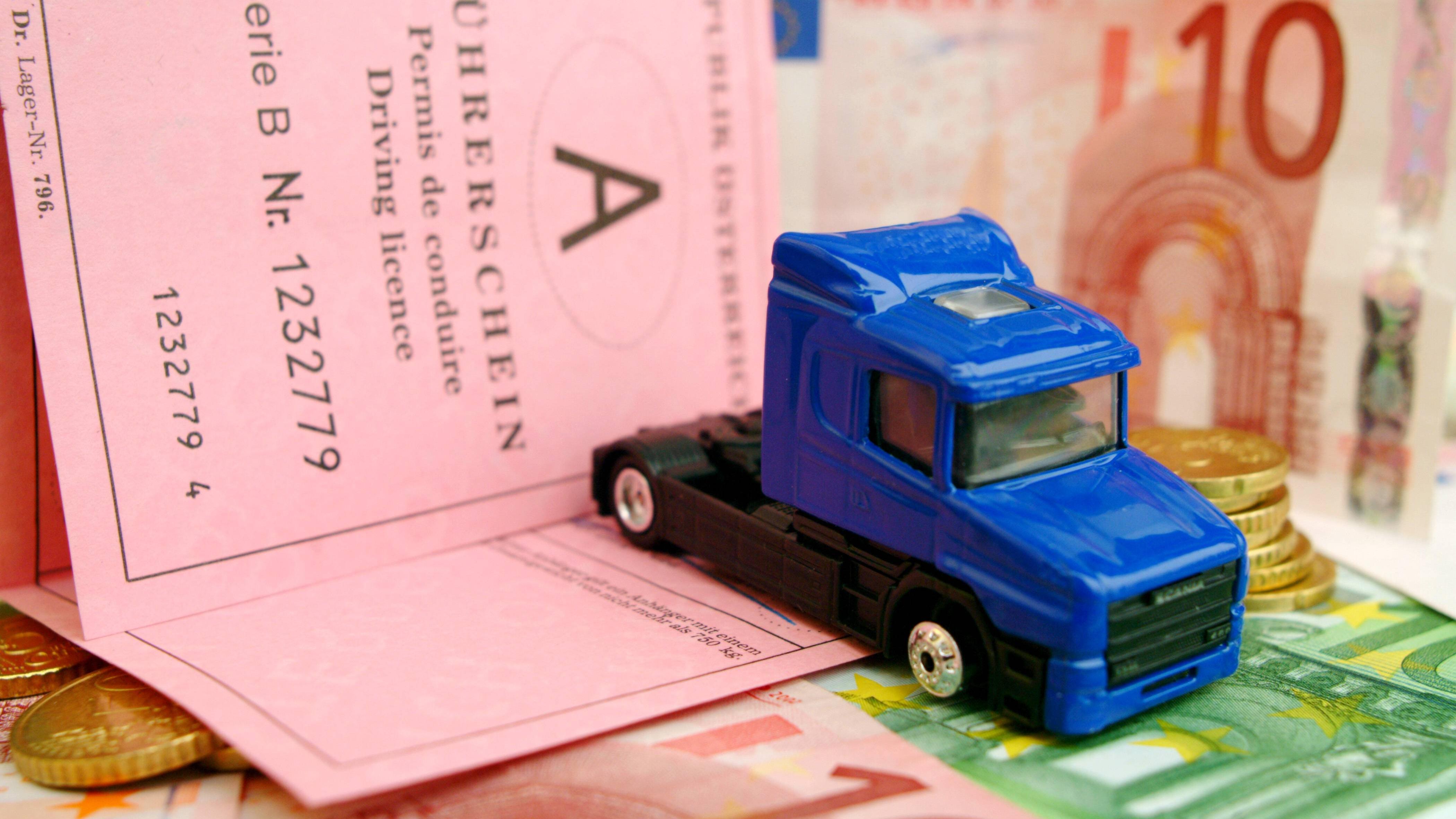 Kosten für LKW-Führerschein - ein Überblick