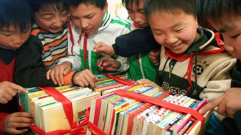 Durch das Spenden Ihrer Bücher können Sie anderen auch noch eine Freude bereiten.