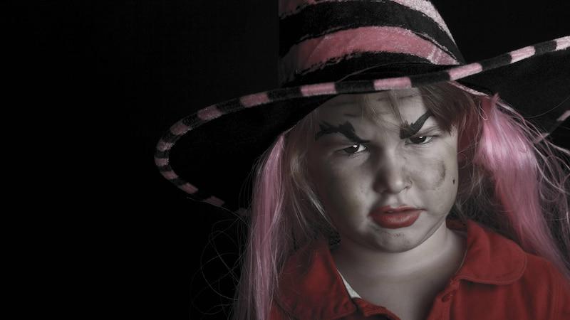 Hexe schminken bei Kindern: Eine einfache Anleitung
