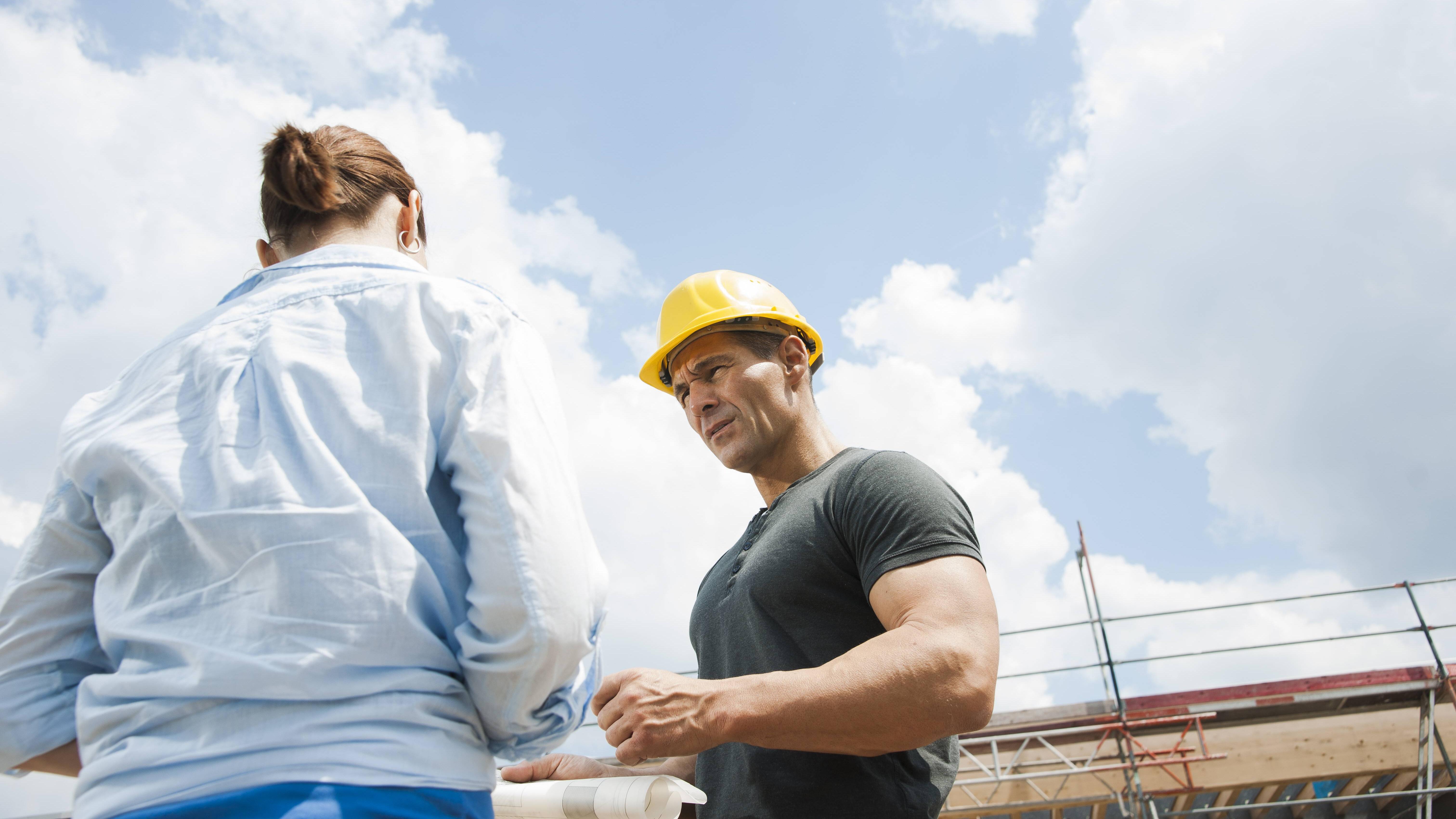 Als Tipp für einen stressfreieren Hausbau sollten Sie eine sorgfältige Planung zugrunde legen.