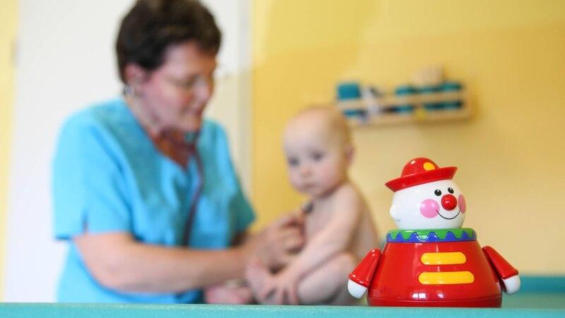 Sie können problemlos den Kinderarzt wechseln, wenn Sie unzufrieden sind.
