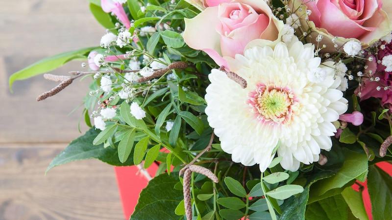 Aldi bietet mittlerweile auch einen Blumenversand an.