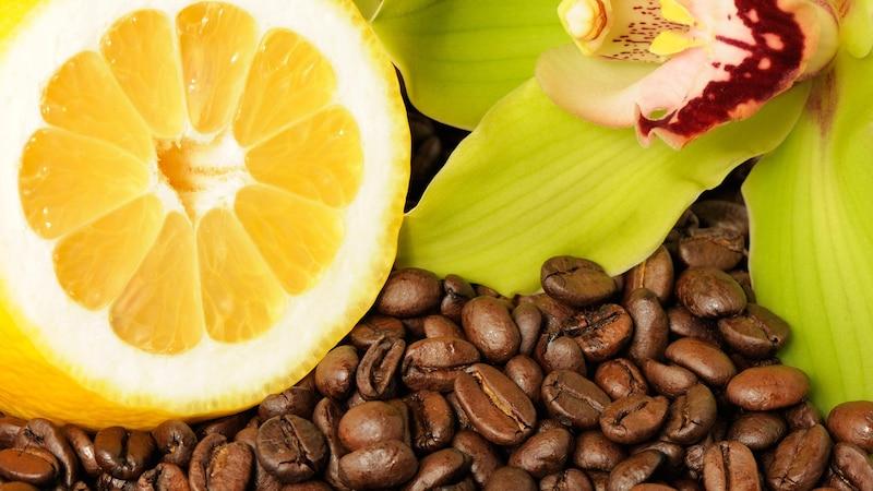 Kaffee mit Zitrone kombinieren verspricht einige positive Wirkungen auf den Körper.