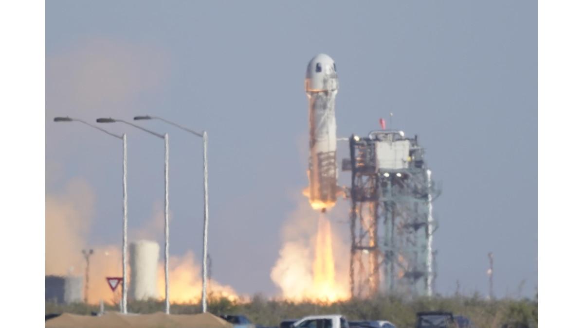 Start der Rakete