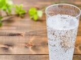 Mit dem Wassersprudler stellen Sie Wasser mit Kohlensäure selbst her.