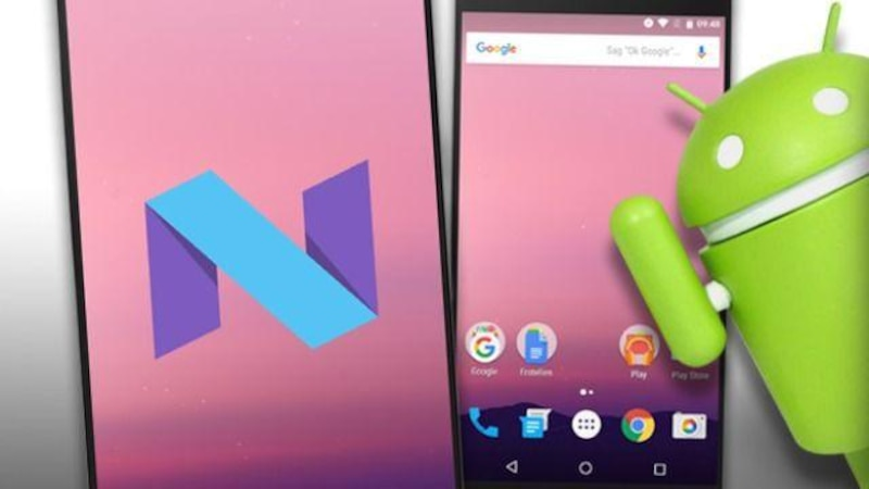 Android 7 mit Splitscreen