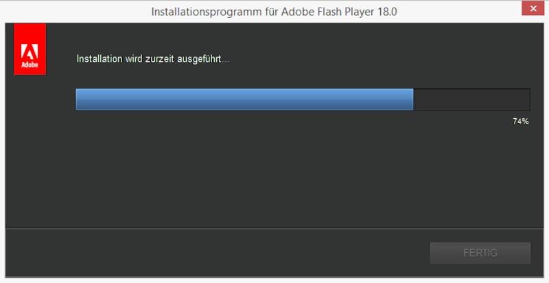 Flash Player richtig installieren
