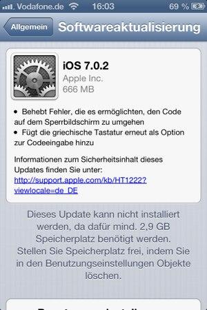 iPhone updaten
