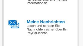 Kontaktdaten und Hotline von PayPal (Bild: Screenshot)