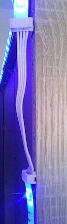 LED-Streifen mit Klickverbindern