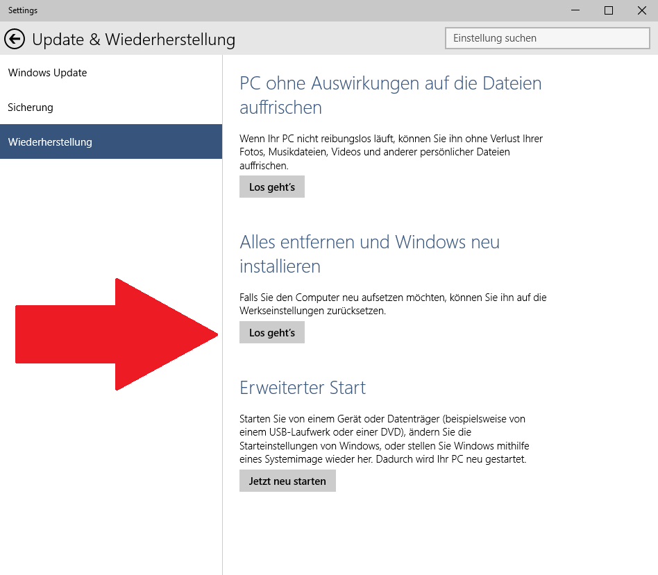 Malware: Windows neu installieren