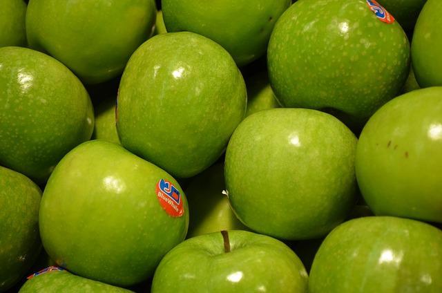 PLU Code auf Äpfeln (Bild: Pixabay)