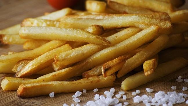 Portion Pommes extra bei McDonald's