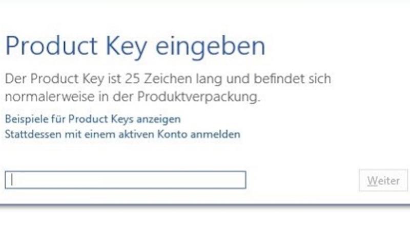 Product Key: Office auf dem neuen PC aktivieren