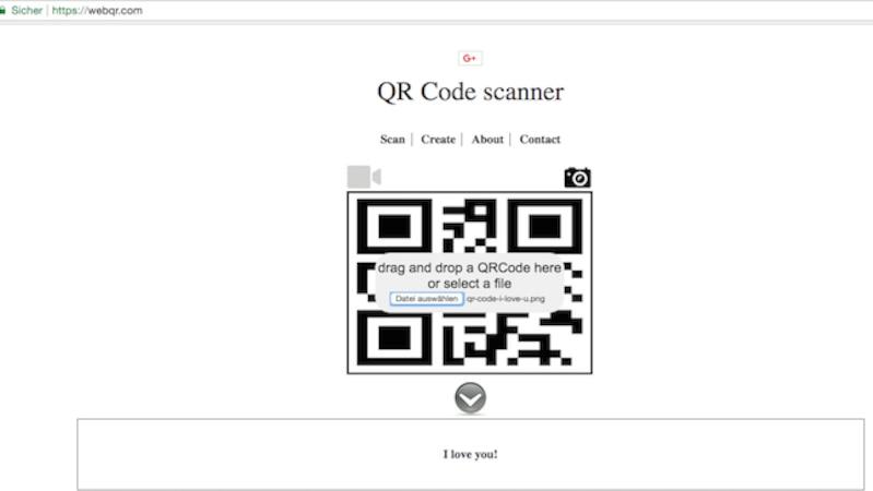 QR Code Reader Online