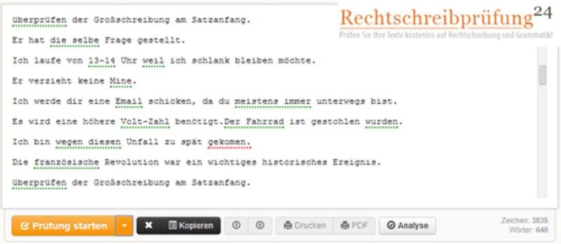 Auf Rechtschreibpruefung24.de können Sie Ihre korrigierten Texte auch abspeichern und anschließend abrufen.