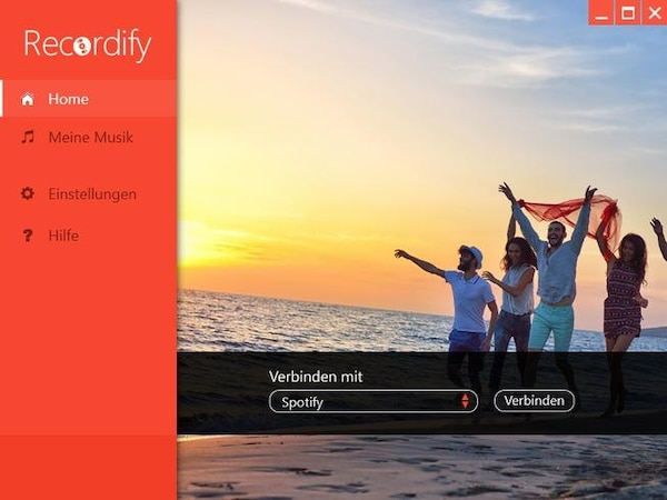 Recordify: MP3-Download bei Spotify