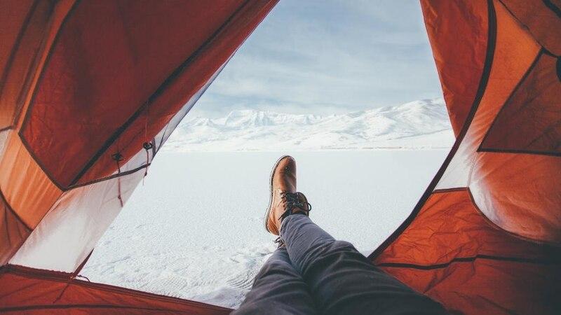 Sicher bleiben ist beim Wintercamping wichtig (Bild: Pixabay)