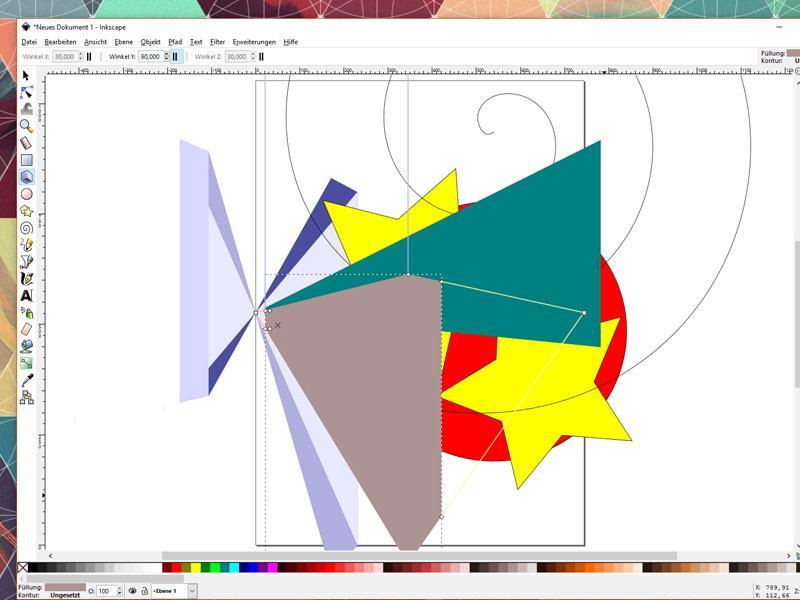 Vektorgrafik in Inkscape erstellen