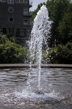 Wasser mit der Kamera einfrieren