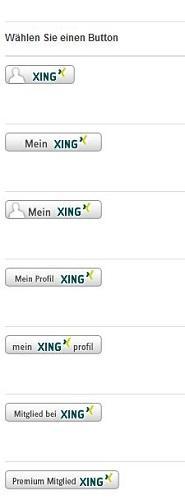 Xing-Buttons auf Website einbinden