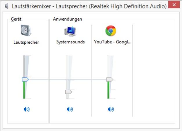 YouTube: Lautstärke erhöhen