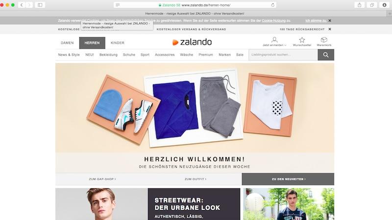 Zalando: Paket zurücksenden